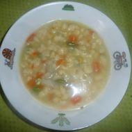 Kmínová polévka s bazalkovými nočky recept