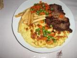 Překvapení v omeletě recept