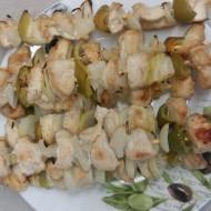 Dietní kuřecí špízy se zeleninou recept