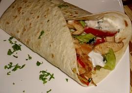 Tortilla plněná kuřecím masem recept