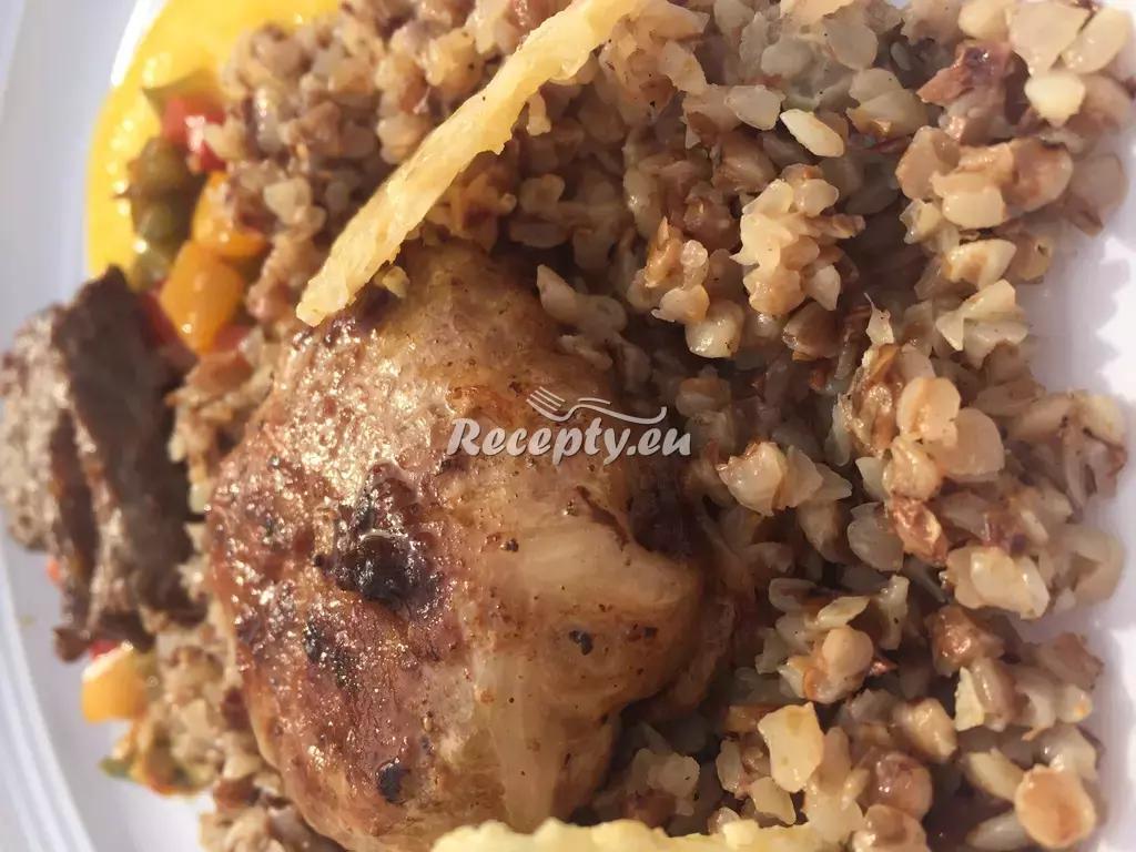 Hovězí karbanátek s pohankovým rizotem recept  pohanka ...