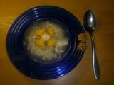 Česnečka s křepelčími vejci recept