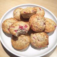 Fitness jogurtové muffiny s jahodami recept
