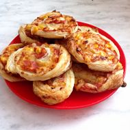Mini pizza 2 recept