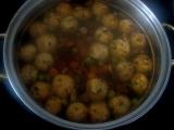 Žampiónové knedlíčky do polévky recept