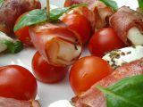 Mozzarella smažená ve slanině recept