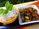 Cuketová čína bez masa recept