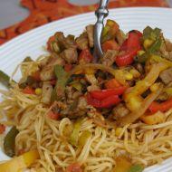 Vepřové kari se zeleninou recept