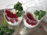 Sýrový krém s brusinkami recept