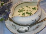 Tradiční francouzská polévka Vichyssoise recept