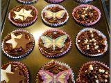 Anglické dortíky cupcakes, čokoládové recept