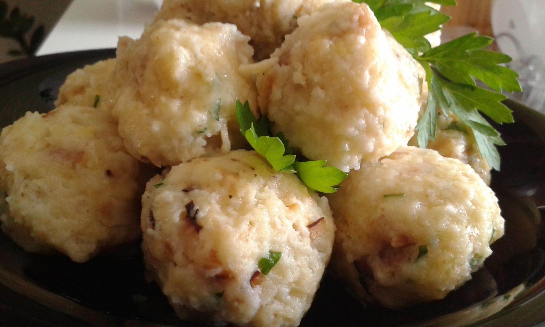 Celerové knedlíky recept