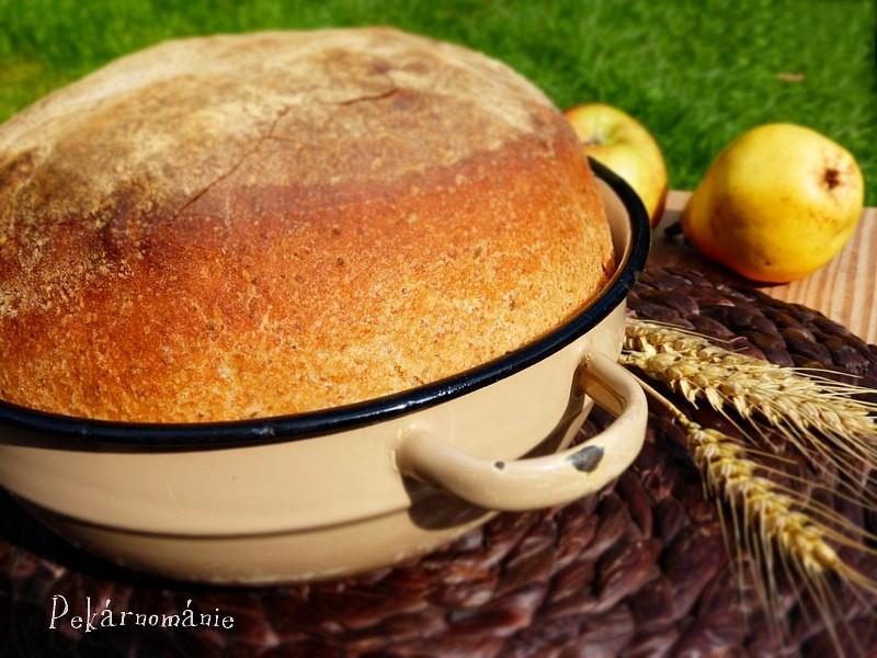 Pšenično-žitný chleba z mísy recept