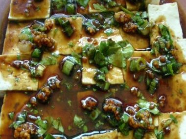 Dušené tofu se zeleninou