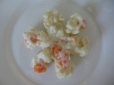 Pro nejmenší  Kuřecí maso se zeleninou v sýrové omáčce recept ...