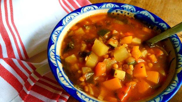 S Klárou v kuchyni: Pestrobarevná čočková polévka