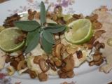 Rychlá kuřecí prsíčka se šalvějí s citronem recept