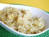 Kysané zelí s ananasem jako příloha recept