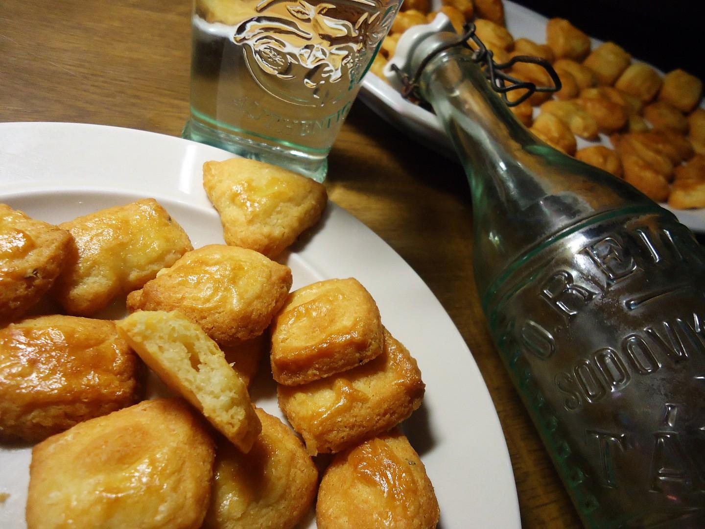 Máslové sušenky s parmazánem recept