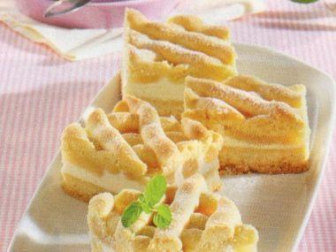 Hruškový koláč  Linzertorte