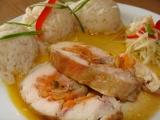 Šťavnatá kuřecí roláda recept
