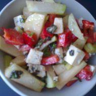 Kedlubnový salát s paprikou recept