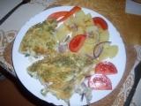 Pangasius pod vajíčkem recept
