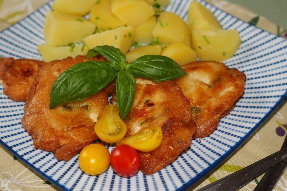 Kuřecí kousky v letním těstíčku recept