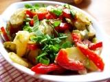 Selský bramborový salát s vůní Loštic recept