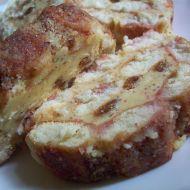 Piškotová roláda s mandlovým krémem recept