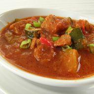 Vepřový guláš na chilli recept