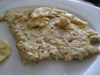 Ovesná omeleta