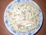 Těstovinový salát z drůbků recept