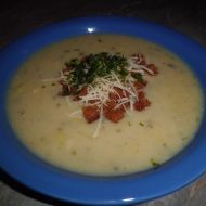 Krémová pórková polévka recept