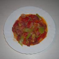 Zelenina s chorizem recept