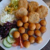Smažené syrečky se selskými brambory recept