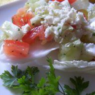 Zeleninový salát s petrželkou recept