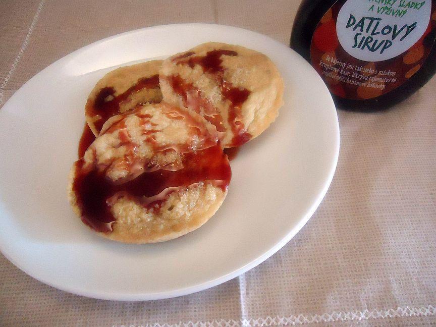 Vločkové lívanečky aneb zdravá snídaně recept
