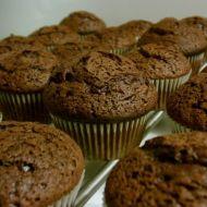 Lahodné čokoládové muffiny recept
