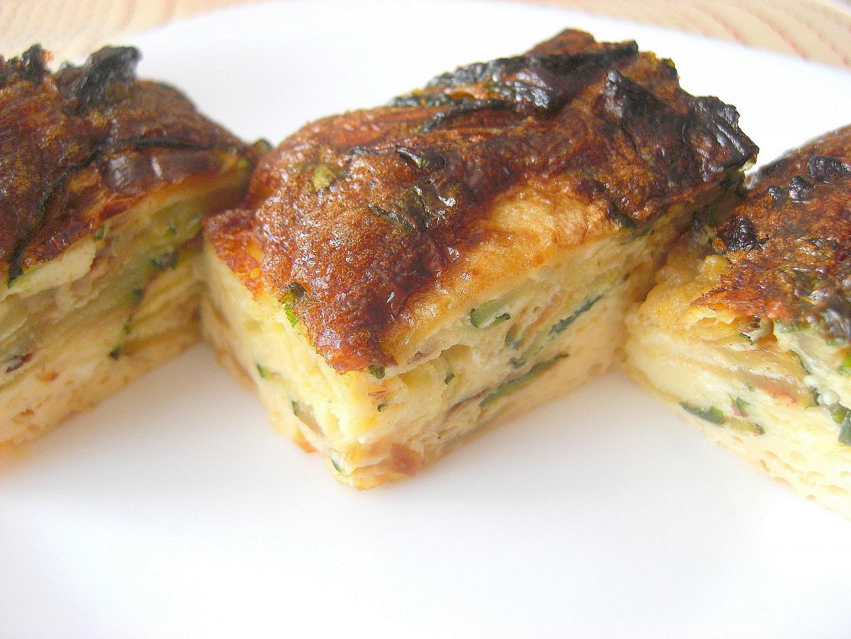 Frittata s cuketou recept