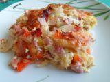 Zapečený celer s kapustou, šunkou a mozzarelou recept ...