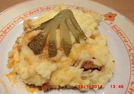 Ragú z mletého masa zapečené s bramborovou kaší(v originále ...