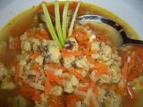 Vývar se slaninovými nočky a zeleninou recept