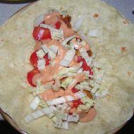 Tortilla s náplní recept
