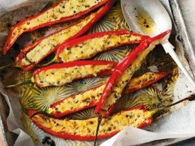 Sýrové chilli papričky