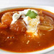 Zeleninová polévka s červenou řepou recept