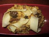 Houbové rizoto z kombinace hub sušených a čerstvých recept ...