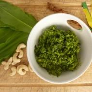 Pesto z medvědího česneku recept