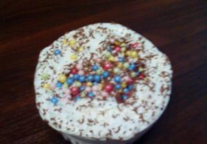 Pudinkový dortík