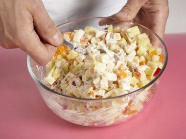 Recept Babiččin bramborový salát